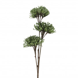 AGNITA - artificial flower - synthetics - DIA 25 x H 100 cm - green