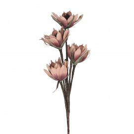 LUMINA - artificial flower - plastic - H 100 cm - pink