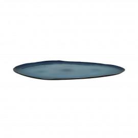 GALETS - schotel - blauw - M - 40x30x2 cm