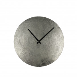 JIVE - clock - aluminium / metal - DIA 38 cm - Nickel