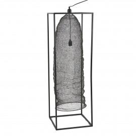MAILLE - lampadaire - fer - L 40 x W 40 x H 120 cm