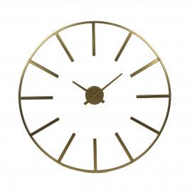 ZOULOU - wall clock - metal - DIA 80 cm - gold