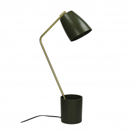FACTO - table lamp - olive -  28x10x53 cm