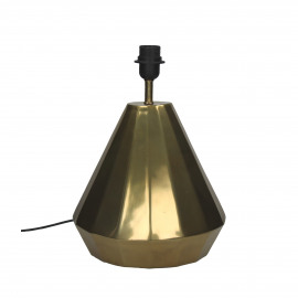 FACTO - table lamp - metal - white/gold - Ø28x37 cm