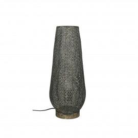 JENDELA - vloerlamp - metaal - DIA 18 x H 48 cm