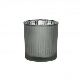 BLIN - photophore - verre - cuivre - Ø7,5x8 cm