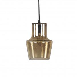 MILAN - hanglamp - glas - amber - S - Ø18x24 cm