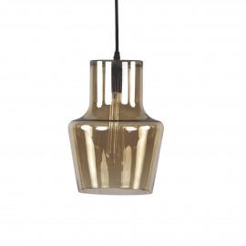MILAN - hanglamp - glas - amber - M - Ø22x30 cm