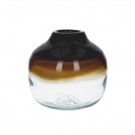 PETRILA - vase - verre - multi  - S - Ø22x21 cm
