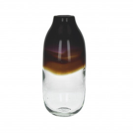 PETRILA - vase - verre - multi - M - Ø15x35 cm