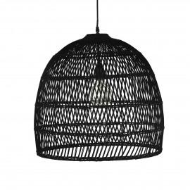 FEROE - lampe suspendue - métal - noir - Ø53x49 cm