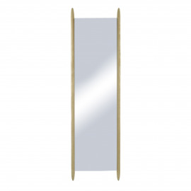 HOOX - miroir - chêne - L 47,5 x W 3,5 x H 170 cm - naturel