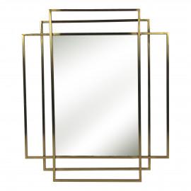 EMPIRE - spiegel - metaal - L 70 x W 4 x H 90 cm - Goud