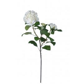 HYDRANGEA - hortensia  - synthétique - H 115 cm - blanc