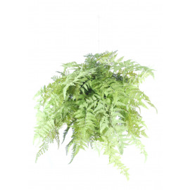 FERN - fern ball hanging - - H 70 cm - green