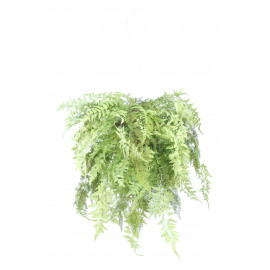 FERN - Fern ball hanging -  - H 90 cm - green