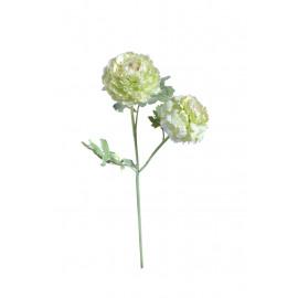 RANUNCULUS - ranunculus flower - synthetics - H 62 cm - yellow