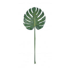 MONSTERA - monstera leafe - plastic - H 105 cm - green