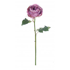 ROSE - rose - synthetics - H 58 cm - lilac