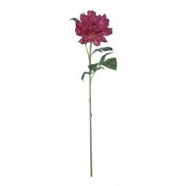DAHLIA - dahlia - kunststof - H 70 cm - roze