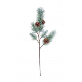 JAPANESE TAMARACK PINE - japanse tamarack pine - kunststof - H 74 cm - groen