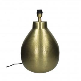 KSAR - pied de lampe - métal - laiton antique - Ø29x39 cm - E27