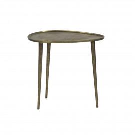 AUSTRAL - bijzettafel - metaal - goud - M - 41x50xh47,5 cm