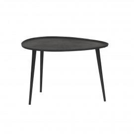 AUSTRAL - bijzettafel - metaal - zwart - M - 60x45xh40 cm