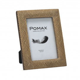CRISSCROSS - photo frame - polyresin - L 15,5 x W 2 x H 20,5 cm - natural