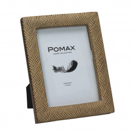 CRISSCROSS - photo frame - polyresin - L 18,5 x W 2 x H 23,5 cm - natural