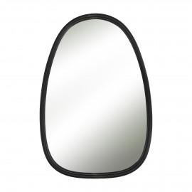 SXARO - mirror - iron / mirror glass - L 34,5 x W 2 x H 50,5 cm