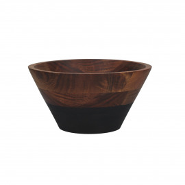 DROP - salad bowl - acacia - DIA 25 x H 13 cm