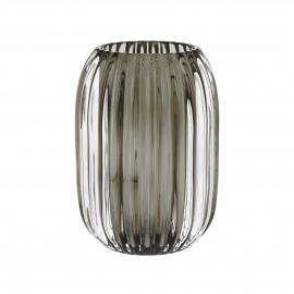 STERA - photophore - verre - brun - Ø9,5x13 cm