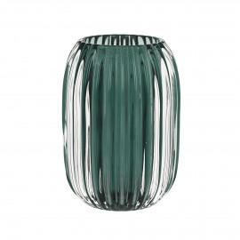 STERA - photophore - verre - vert - Ø9,5x13 cm