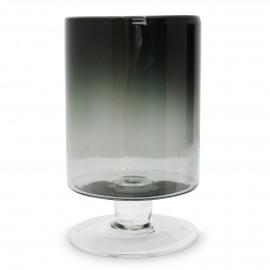 TARA - Vaas - Glas- smoke - XL - h 34 x Ø 20 cm