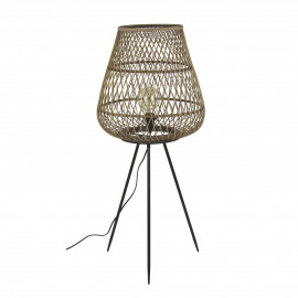 TAO - lampe - bambou - DIA 42 x H 103 cm