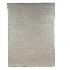 WEAVY - rug - 50% wool/50% polyester - silver - 120x180 cm