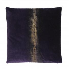 CHAMPAGNE - cushion - velvet - L 45 x W 45 cm - purple