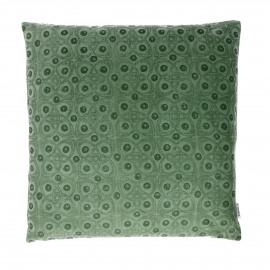 GLORY - coussin déco - velours - vert - 45x45 cm