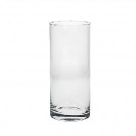 WINDY - hurricane - glass - transparant - Ø8,5xh20 cm