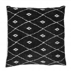 TOUDOU - cushion - cotton - L 45 x W 45 cm - black