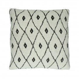 TOUDOU - cushion - cotton - L 45 x W 45 cm - blue
