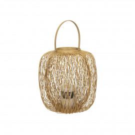 ZIGGY - lantern - bamboo - DIA 27 x H 30 cm - natural