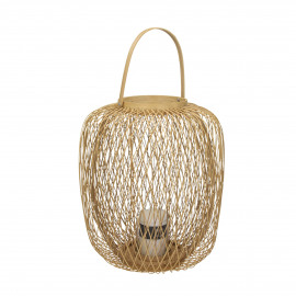 ZIGGY - lantern - bamboo - DIA 36 x H 40 cm - natural