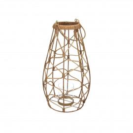 GUGULETO - lantern - rattan - DIA 30 x H 40 cm - natural