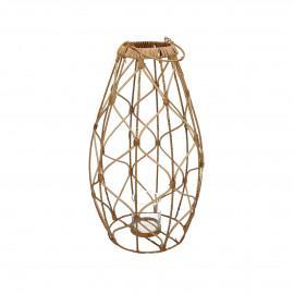 GUGULETO - lantern - rattan - DIA 30 x H 52 cm - natural