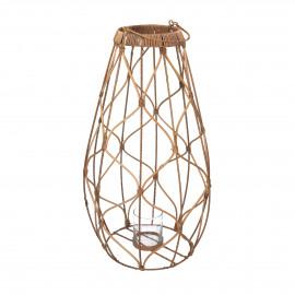 GUGULETO - lantern - rattan - DIA 30 x H 65 cm - natural
