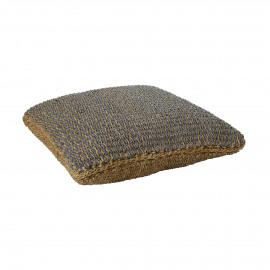 SEGIRA - floor cushion - seagrass - L 80 x W 80 x H 20 cm - mix of colours