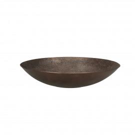 CABEB  - échelle déco - métal - DIA 31x H 6,5 cm - Bronze