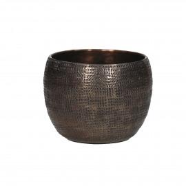 CABEB - photophore - métal - bronze - Ø9x6,5 cm